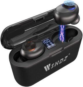 WSHDZ Bluetooth Wireless Earbuds with Mic