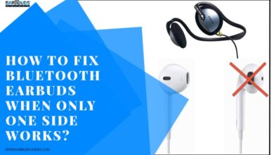 How to fix Bluetooth earbuds when only one side works?
